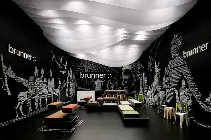 Brunner – Salone Milano 2012, Mailand. Ein Projekt von Ippolito Fleitz Group – Identity Architects, Decken.