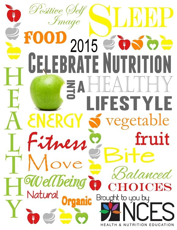 National Nutrition Month Free Download