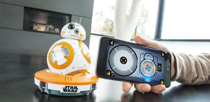"""Управление дроидом BB-8 из """"Звёздных войн"""" на смартфоне!"""