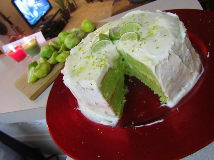 Blueberry & Key Limes Tea Cakes Recipe — Dishmaps