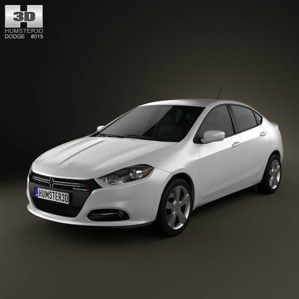 Dodge Dart 2013 3d model from humster3d.com. Price: $75