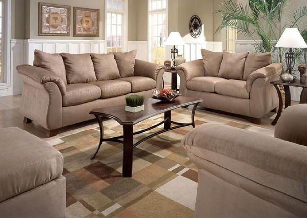 8100 Mocha Sofa Set