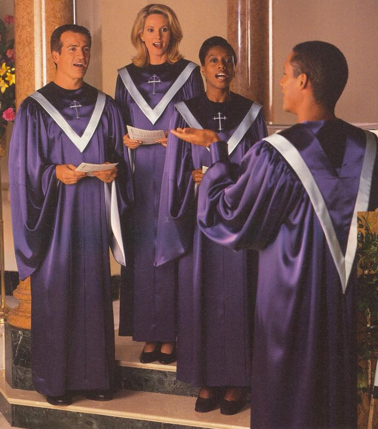 Gospel Choir Robes | Choir Gowns - Different styles of choir gowns