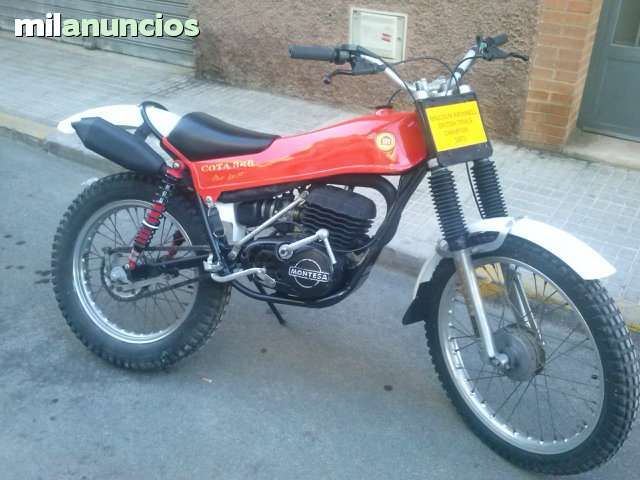 MONTESA - COTA 348 MALCOM RATHMELL - 1977