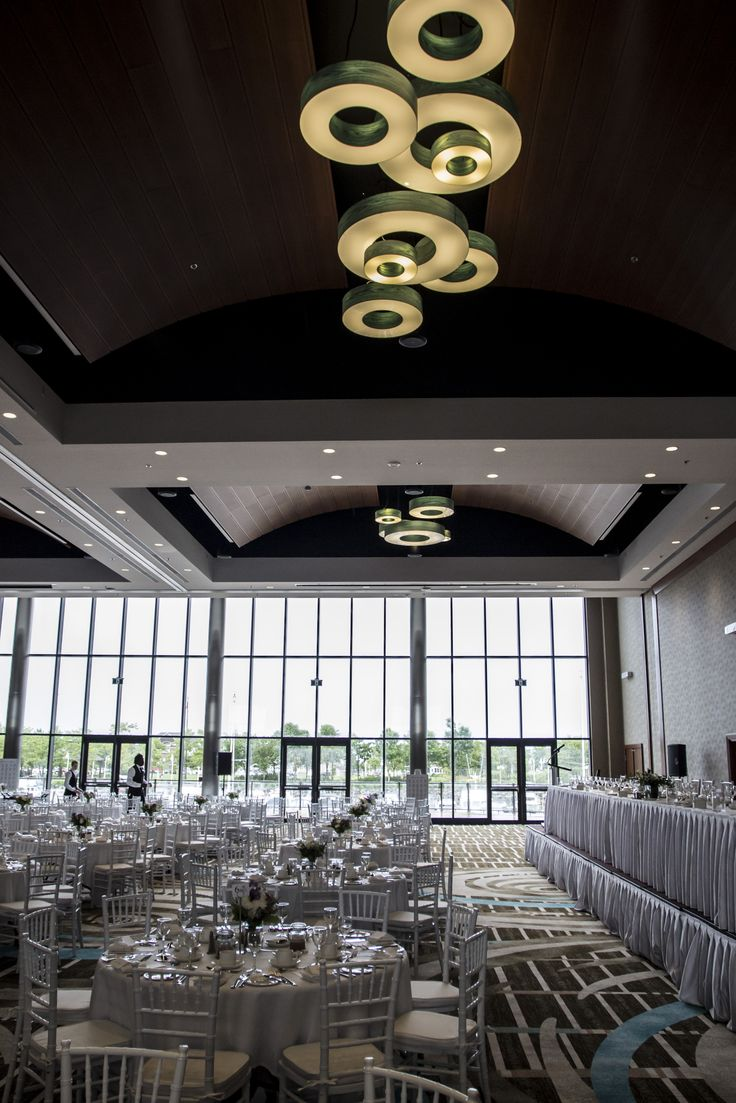 Delta Prince Edward  in the Palmer Pope Room. This space features floor to ceiling windows and a terrace overlooking the Marina.