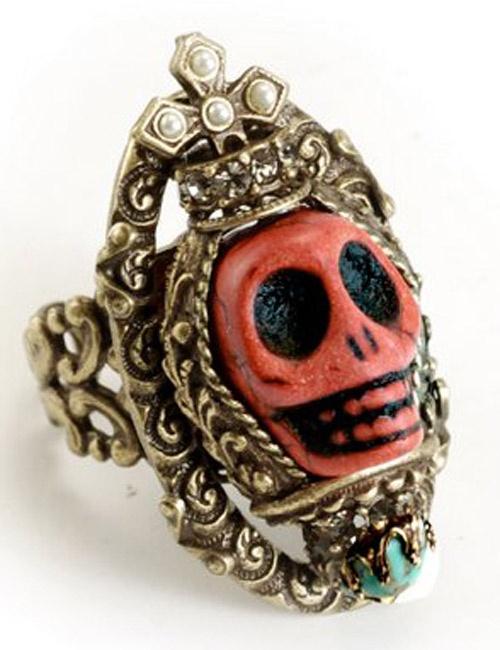 Ollipop Queen Skull Ring