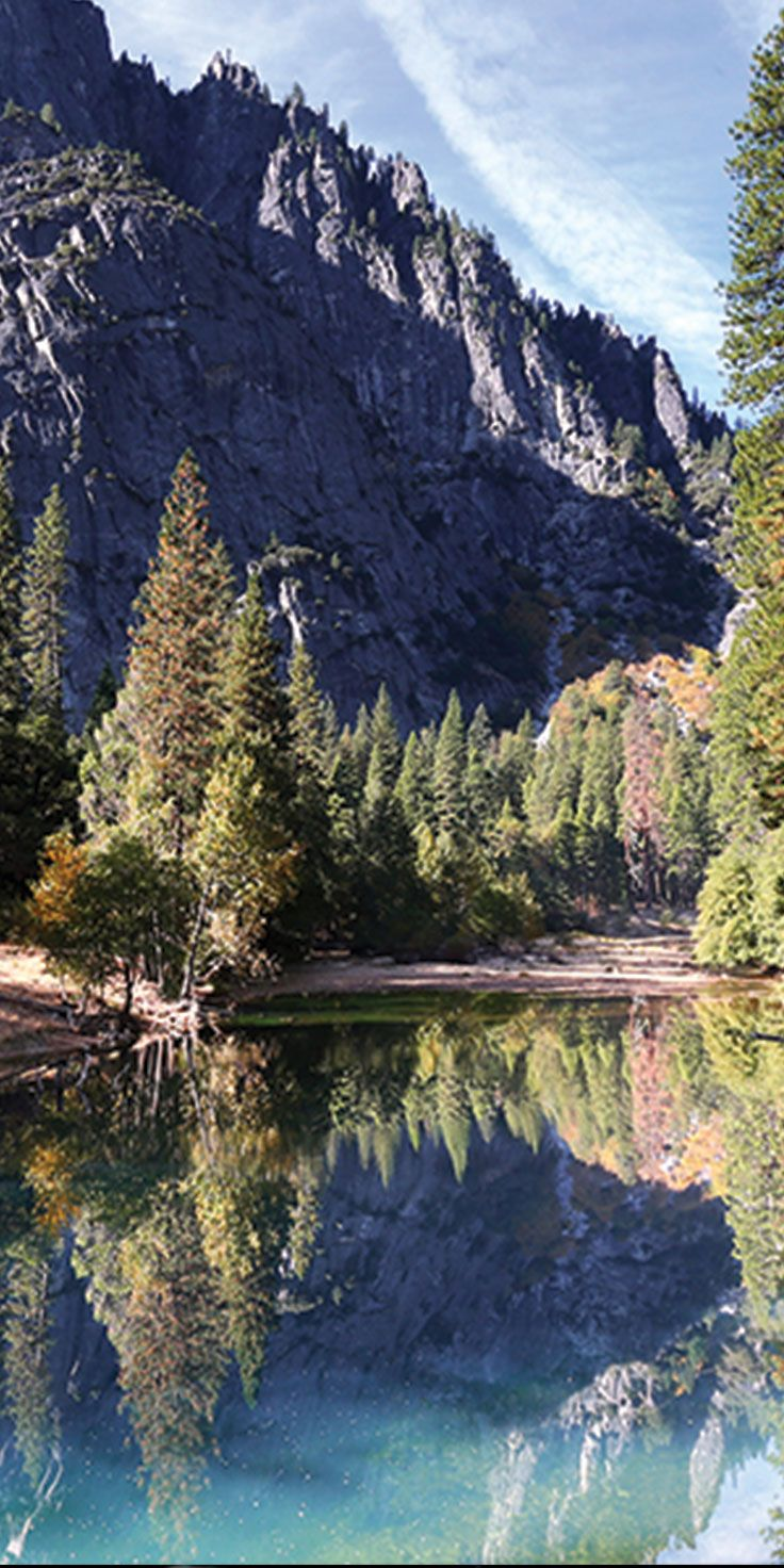 Admire the pristine lakes in Yosemite National Park - by Sean Scott