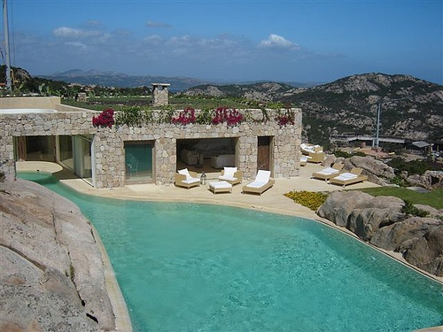 Unique Porto Cervo Hilltop Italian Villa with Ocean View - Villa Rentals,