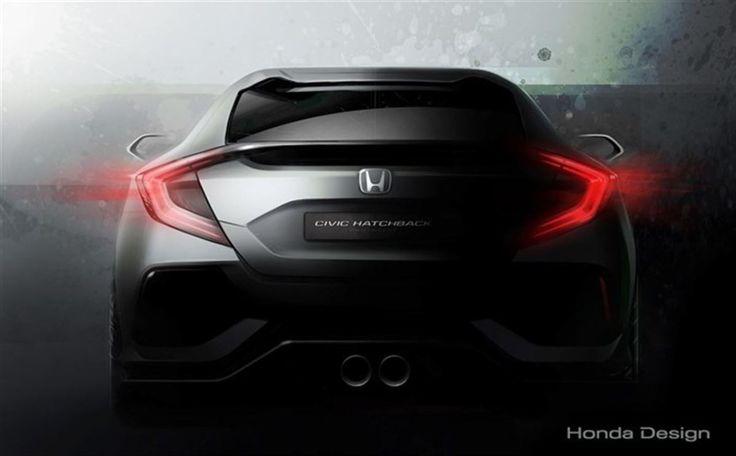 El Honda Civic Hatchback Prototype hará su debut mundial en Ginebra