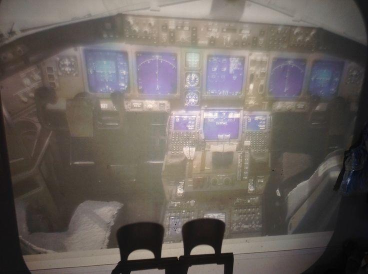 https://flic.kr/p/qxsrqi | Untitled photo, cockpit in airplane