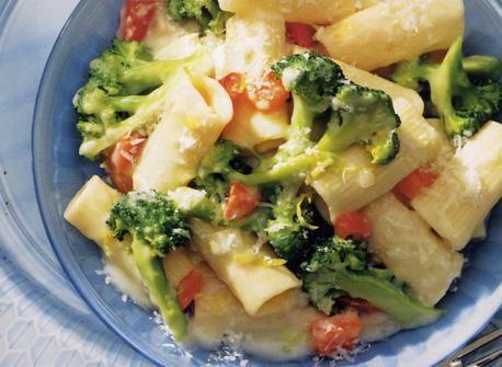 Broccoli, garlic and rigatoni | DASH Diet Main Course