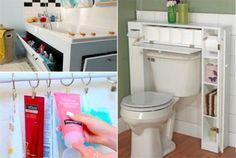 15 rangements attractifs pour gagner de l'espace dans votre salle de bain