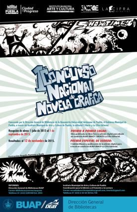Lanzan IMACP y BUAP concurso nacional de novela gráfica