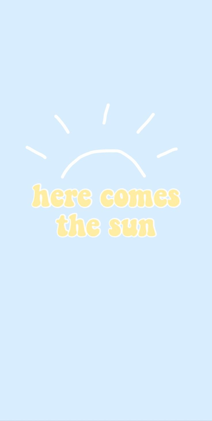 here comes the sun background - follow shannon shaw for more like this ☼  iPhone X Wallpaper 377106168795621239 6