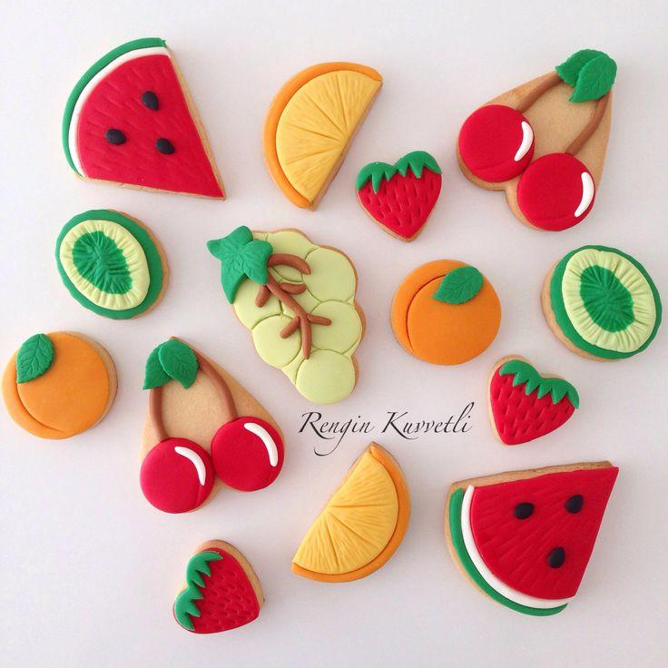 Meyve Kurabiyeler / Fruit Cookies