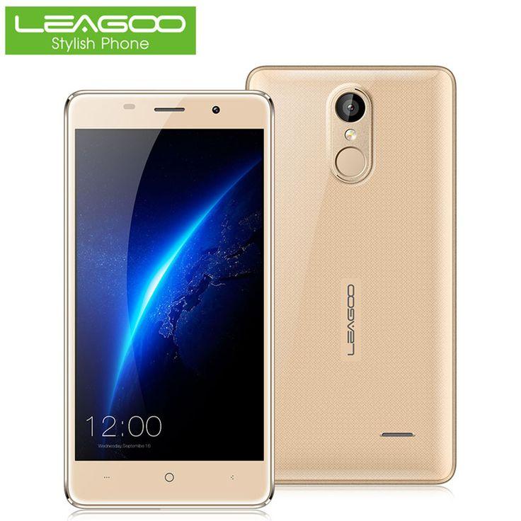 Leagoo M5 5.0 inch 3G Smartphone MTK6580A Quad Core 2GB RAM 16GB ROM Mobile Cell Phone Fingerprint Dual SIM 5.0MP WiFi GPS
