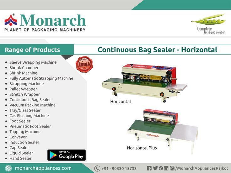 #ContinuousBagSealer #Horizontal #Sealer #Monarch #packaging #machinery #Ahmadabad #Surat #Rajkot #Metoda #MonarchAppliances #Appliances