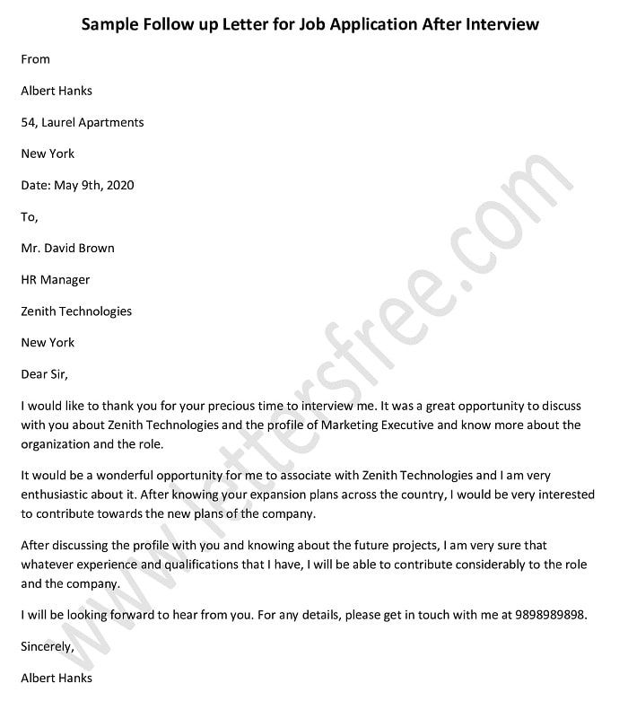 Pin On Follow Up Letter