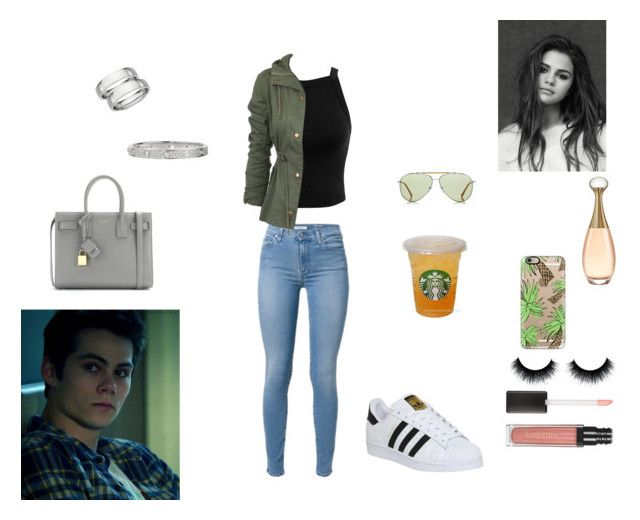 """Hang out with boyfriend / O'Brien"" by sr-magcult-bieber-gomez ❤ liked on Polyvore featuring мода, Miss Selfridge, Casetify, Yves Saint Laurent, Cartier, Blue Nile и adidas"