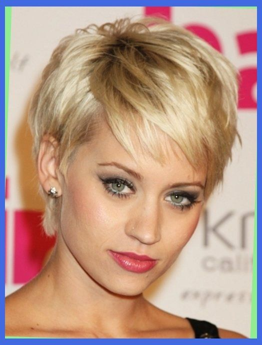 Short Hairstyles Older Women Round Faces New