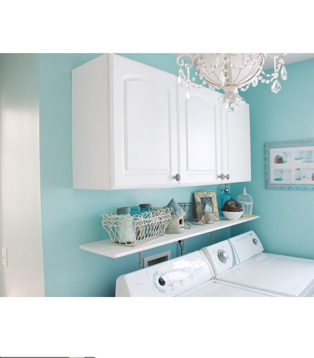 Laundry Room Shelves And Cupboards