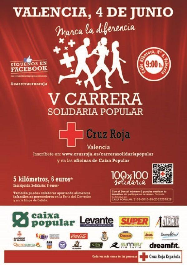 V Carrera Solidaria Popular de Cruz Roja en Valencia - http://www.valenciablog.com/carrera-solidaria-popular-de-cruz-roja-en-valencia/