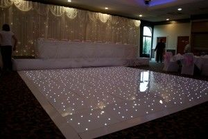The White Starlight LED Dance Floor is perfect for wedding ceremony, corporate events or any occasions.The design of the floor it can be arranged in a rectangular and square shape. This Dancing floor makes it the perfect to use for dance in wedding and catwalk for a fashion show or as a walkway for a civil ceremony or awards night.