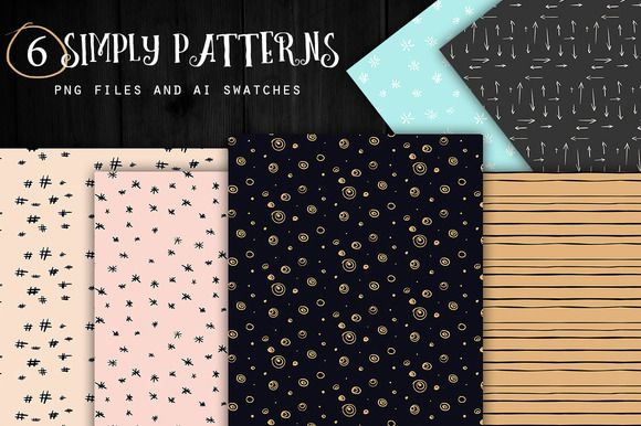 Simply Patterns by Webvilla on Creative Market