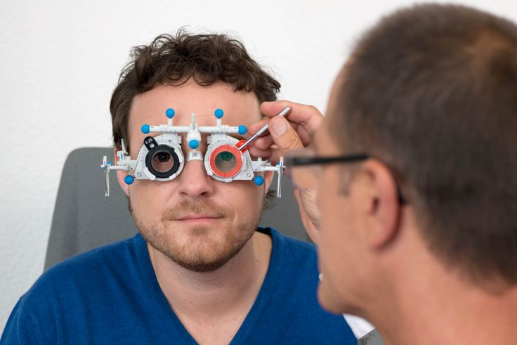 An individual eyeglass lens can only be optimally calculated and manufactured with a precise measurement of the eyes in different visual conditions.