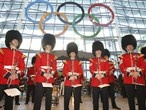 Giant Olympic Rings at Heathrow to welcome visitors to London 2012