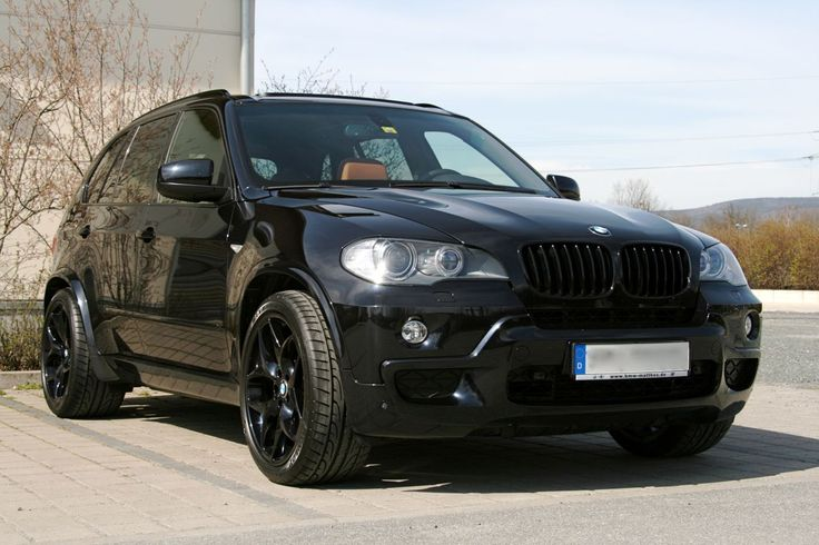 blacked out x5; for me? Why thank you!