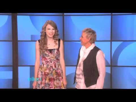 Even Taylor Swift can be funny on Ellen