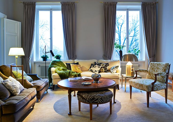 Svenskt Tenn's Design Studio Private Residence Living Room