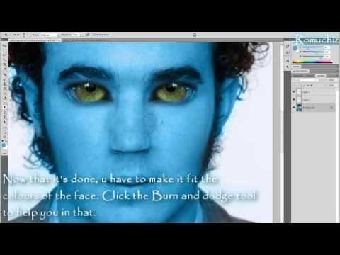 ▶ Photoshop | How to make an AVATAR (Na'vi) - YouTube