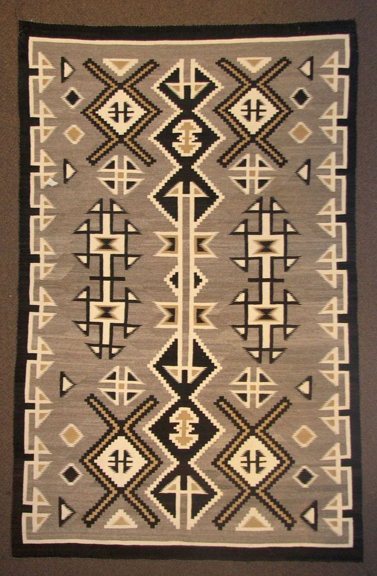859 best navajo rug blanket images on pinterest navajo for Navajo rug coloring page