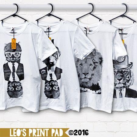 Adult T-shirts available at etsy.com/au/shop/LeosPrintPad madeit.com.au/leosprintpad