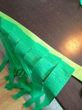 This grass skirt is easy and inexpensive to make. It can be used as a costume or to decorate for a Luau. The best part is that it costs...