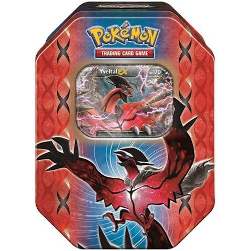 Pokemon XY TCG Card Game 2014 Legend of Kalos Spring EX Booster Packs Tins - Yveltal - List price: $19.99 Price: $13.51