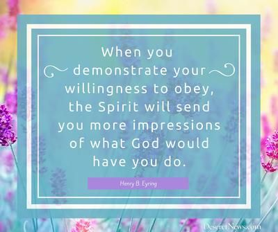 President Henry B. Eyring   84 inspiring quotes from October 2015 LDS general…