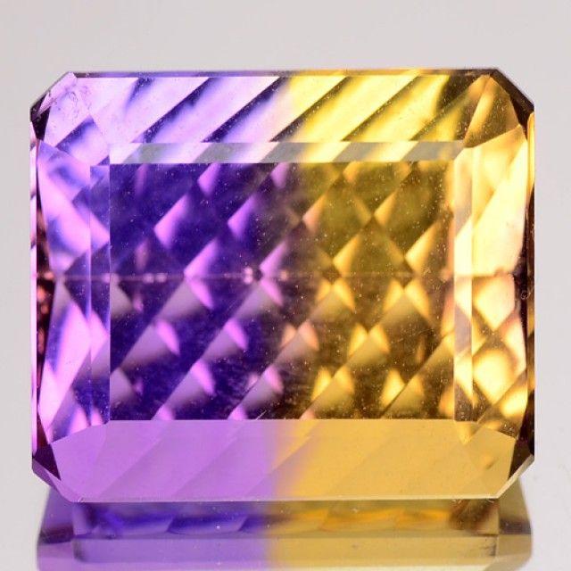 10.64 Cts Natural Bi Colour Ametrine Millenium Cut VVS Brazil Gem Ametrine gemstone, my favourite purple colour stone, gemstones