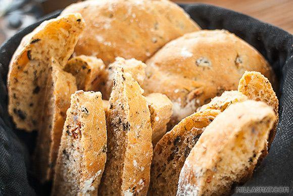 Olivenbrød | Millas Mat