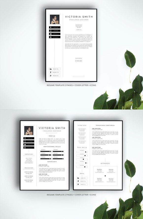 Resume template for MS Word #resume