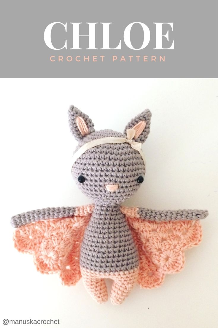 Paid Pattern]Widely Admired Amigurumi Bat Will Get You Lots Of ... | 1102x735