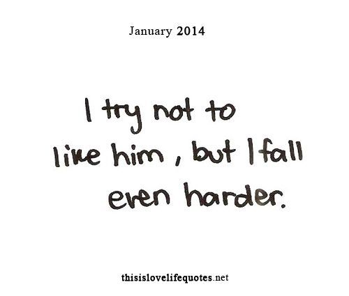 This is so true. I told myself I wouldn't like him but I can't help it because he's so adorable and sweet!