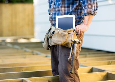construction apps that complement field service software