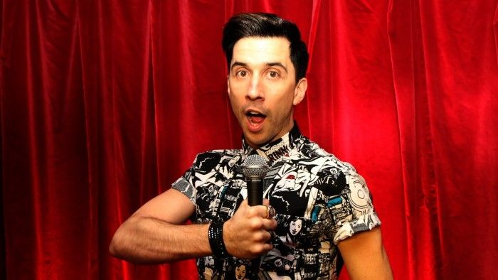 Brit comedian Russell Kane declares his love for Ibiza