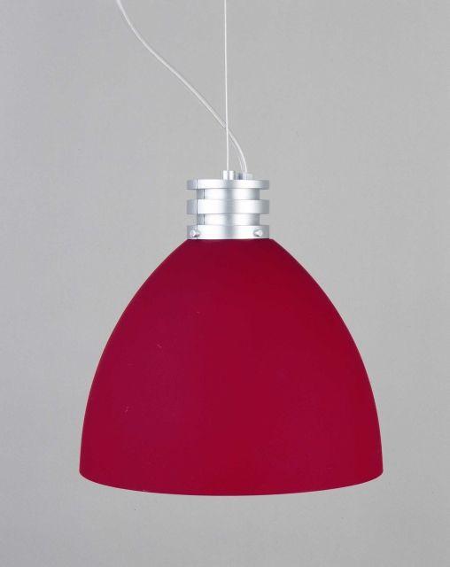 TIBO - závesné osvetlenie červenej farby