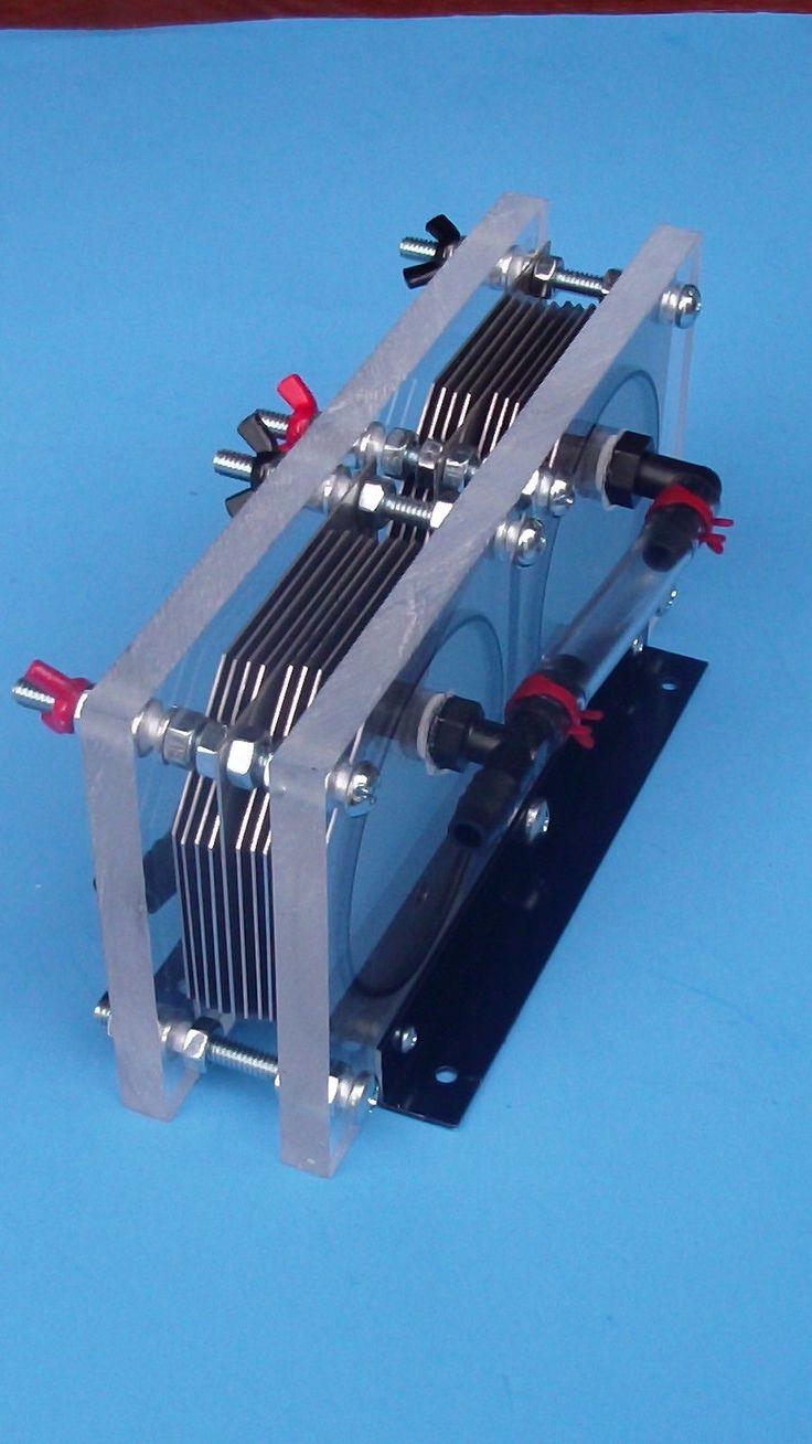 4 0 Lit MIN Hydrogen Generator HHO Dry Cell Brown Gas Electrolyzer Fuel Saver | eBay