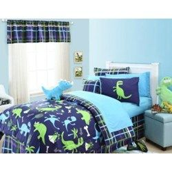 When it comes to Dinosaur Bedding boys just love it is a fun and popular theme with all kinds of colors but a Blue Dinosaur Quilt has a unique style all of it's own. Let's take a look at some of the blue dinosaur quilts and comforters available for the little dino lovers.