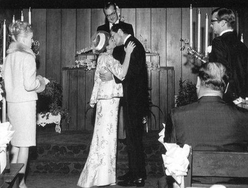 Judy Garland And Actor Mark Herron Kiss Following Their